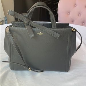 Kate Spade Medium Black Leather Satchel